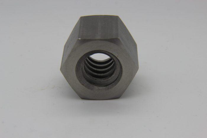 Sechskant Trapezgewindemutter TR16x4 aus Stahl